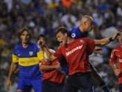 Boca vs Independiente sudamericana 2012