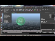 3D Maya Animacion Deformadores 001 Blend Shape Lattice Wrap