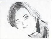 Dibujo Allison Mack 2