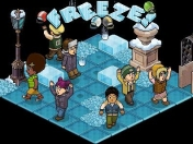 habbo Freeze Cheerleader