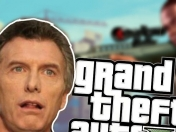 Mauricio Macri jugando gta v gameplay (video) opina papu!