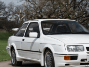 Ford Sierra RS500 Cosworth de 1987 sale a susbata
