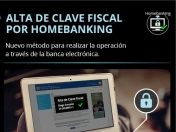 AFIP: Clave Fiscal a traves de Homebanking