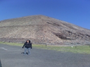 fui a teotihuacan y