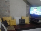 Armando mi living; sillon, cajones y rack TV
