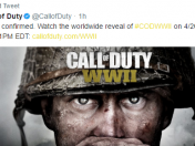 Call of Duty WWII confirmado