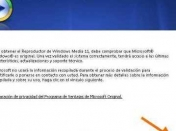 Validar Windows Media Player 11 [Resuelto]