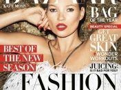 Kate Moss en Harper´s Bazaar Fashion Issue