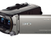 "grabación 3D  ""Double Full HD"" Sony HDR-TD10"