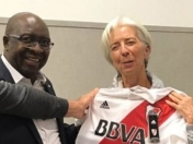 Christine Lagarde es de River Plate