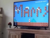 VIDEO: Le piden matrimonio a través de Super Mario Bros.