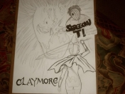 Mi Dibujo de Claymore [Color]