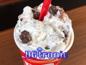 Dairy Queen skor caramel brownie blizzard review