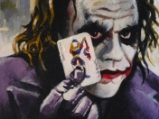 Ilustraciones increibles The dark knight: Jocker