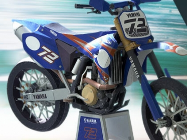 moto YZ450M (papercraft) published in Downloads