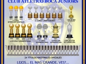 La historia del Club Atletico Boca Juniors