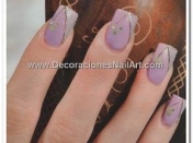 Uñas con Decoración Atrevida (Decoraciones Nail Art)