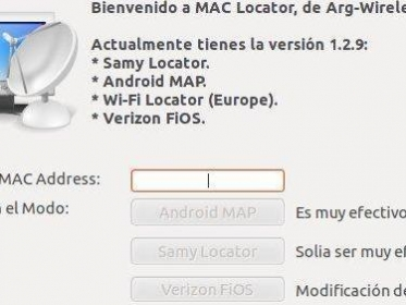 MAC Locator v1.2.9 [Geolocaliza MAC Address en Ubuntu] published in Linux