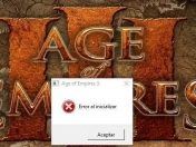 Age of Empires III: Error al iniciar (solución 2017) Steam