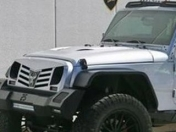 Jeep Wrangler 6x6 by Monster Custom: un bestial todoterreno