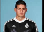 James  cambia de posicion en el Real Madrid.
