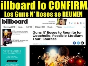 Axl Rose y Slash tocarán juntos - Guns N' Roses