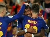 Barcelona goleó con un Lionel Messi indomable