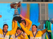 Snow Polo en China: Brasil campeón