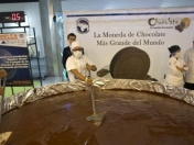 Récord Guinness! Venezuela fabricó la moneda de chocolate