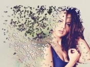 Efecto de dispersion en Photoshop