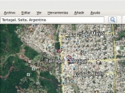 Google Earth, ¿buscador no funca? (Linux).