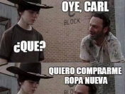 Carl & Rick Meme ^The Walking Dead^