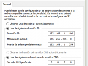 Configurar Ip estática en windows 10