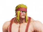 Alex de street fighter